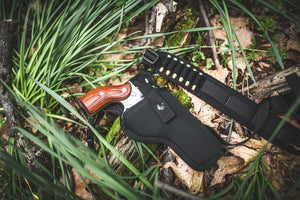 The Denali Chest Holster - Diamond D Outdoors Gun Holsters, Chest Holsters, Alaska Holsters