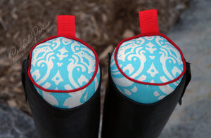 Custom Damask English Boot Trees/Stuffers