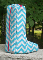 Load image into Gallery viewer, Custom Zig Zag/Chevron Prints Tall Boot Bag