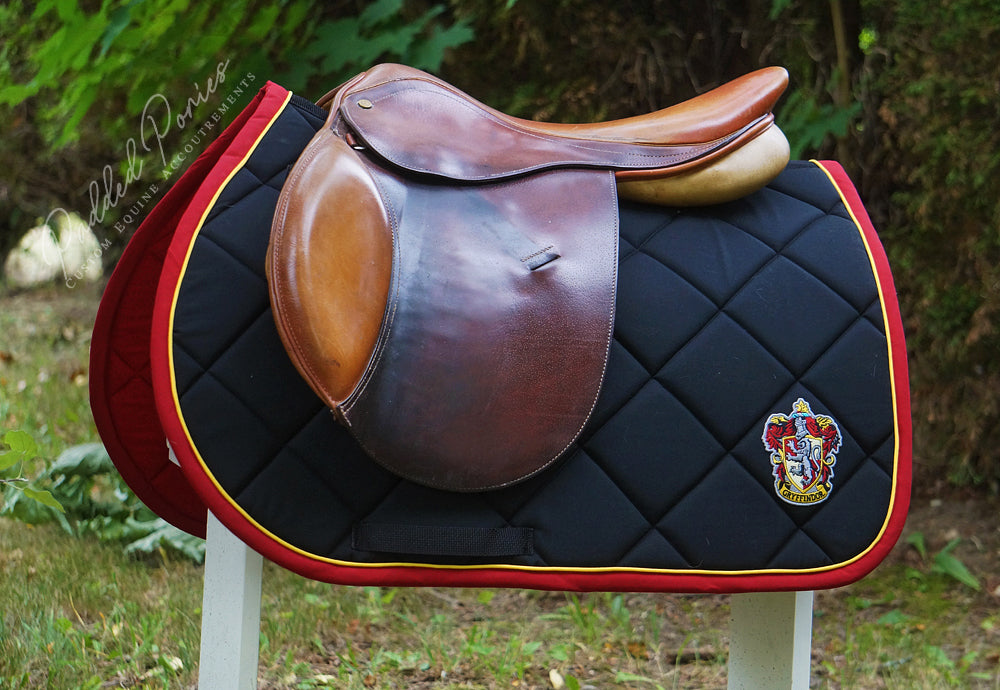 Custom Saddle Pad Sci-Fi Fantasy Patch