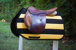 Load image into Gallery viewer, Custom Solid Stripes Saddle Pad