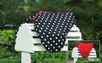 Load image into Gallery viewer, Custom Fleece Lined Polka Dot Saddle Cover
