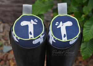 Custom Giraffes English Boot Trees/Stuffers