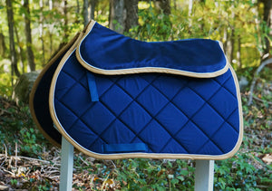 Custom Solid Color Saddle Pad