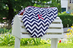 Load image into Gallery viewer, Custom Fleece Lined Zig Zag/Chevron Saddle Cover