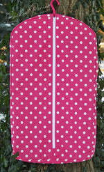 Load image into Gallery viewer, Custom Polka Dot Hanging Garment Bag