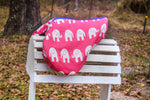 Load image into Gallery viewer, Custom Fleece Lined Elephants Saddle Cover