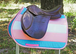 Load image into Gallery viewer, Custom Saddle Pad LGBTQ+ Pride