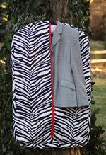 Load image into Gallery viewer, Custom Animal Print Hanging Garment Bag