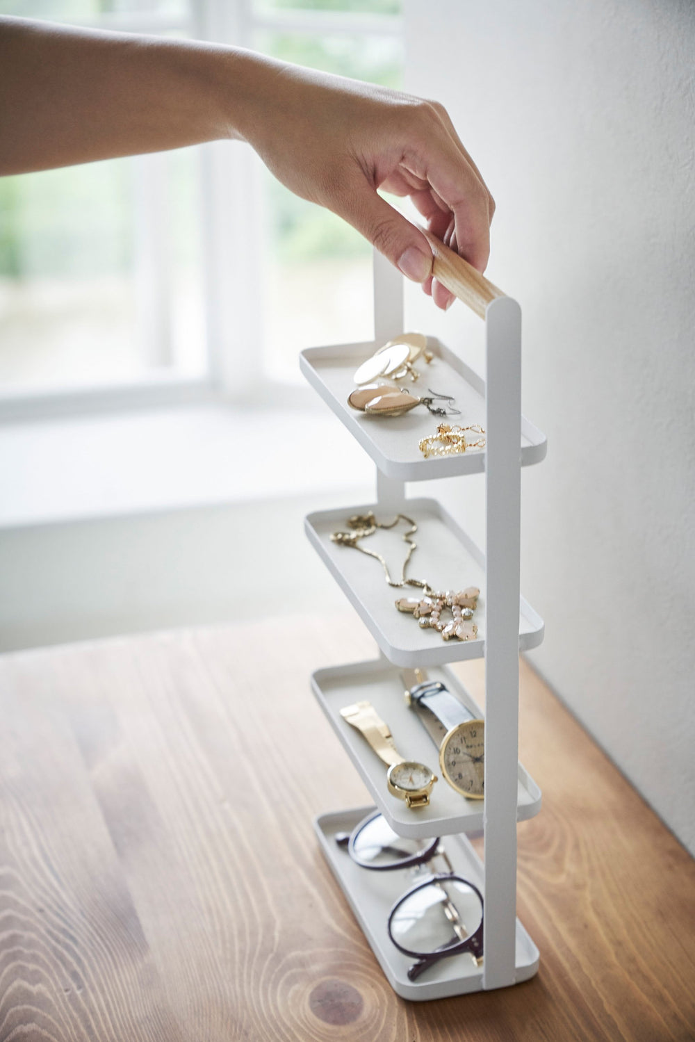 4-Tiered Accessory Tray