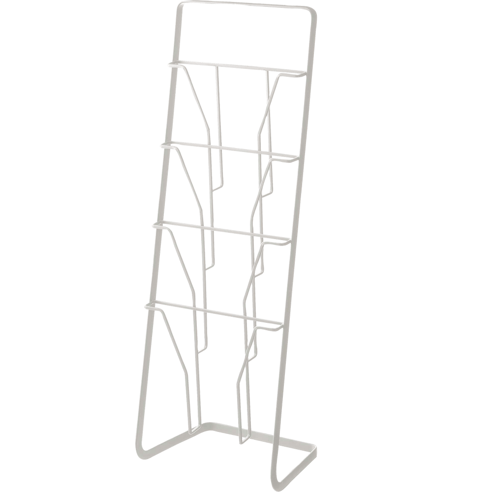 Product image of Yamazaki Magazine Rack in white