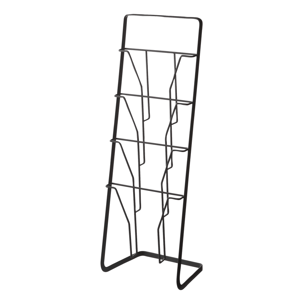 Product image of Yamazaki Magazine Rack in black