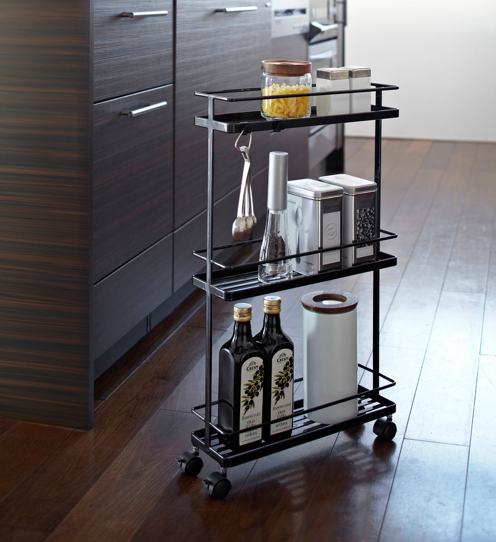 Slim Kitchen Storage Cart