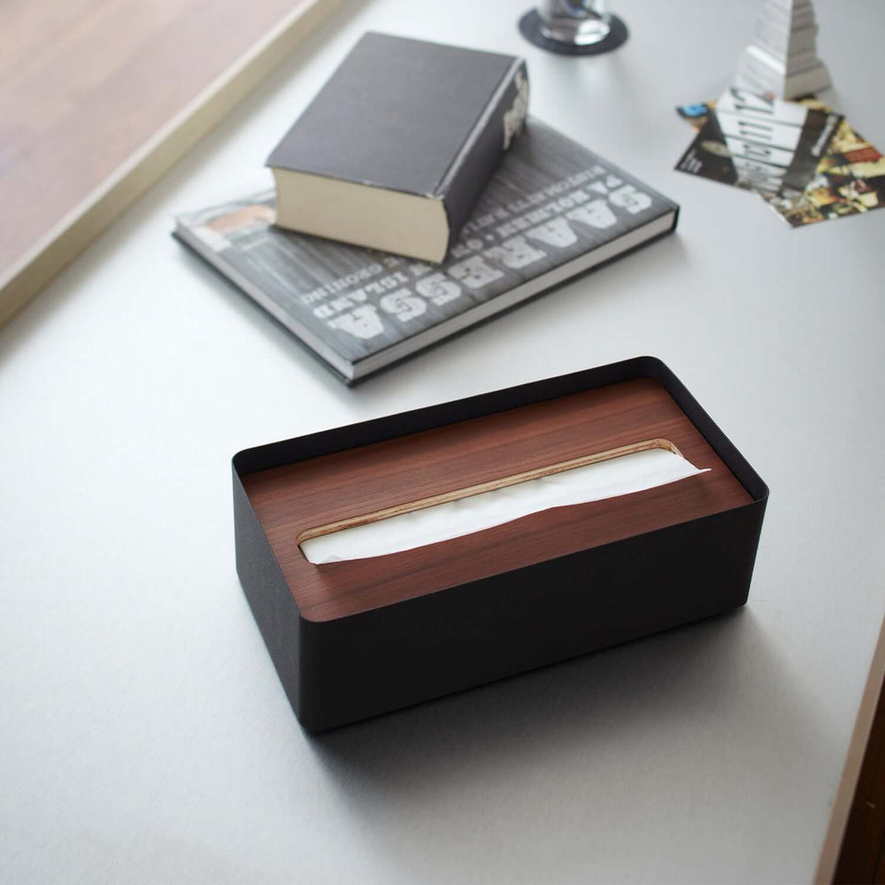 Tissue Box Case with Lid
