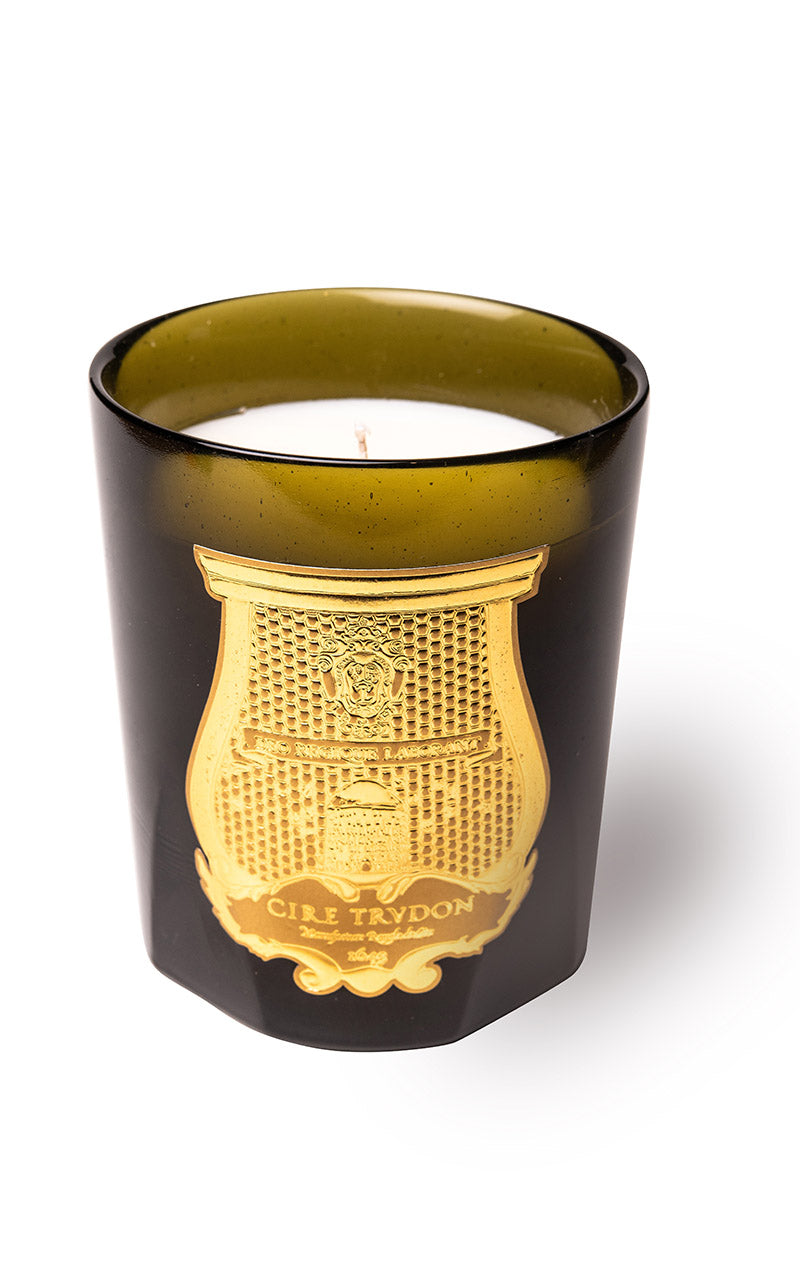 BOUGIE ERNESTO (CUIR ET TABAC)  - CIRE TRUDON