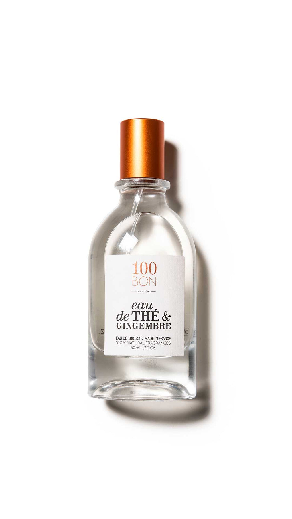 EAU DE THE ET GINGEMBRE - 100BON