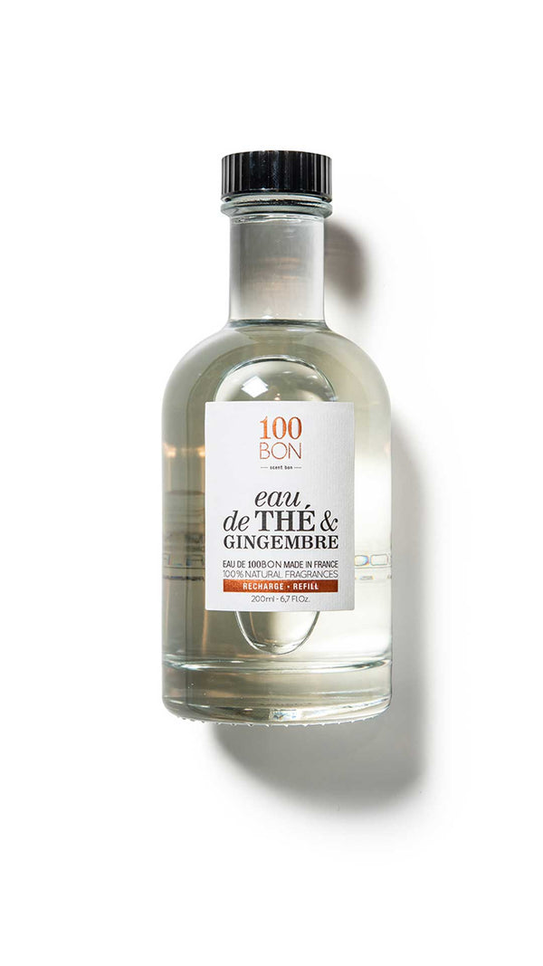 EAU DE THE ET GINGEMBRE RECHARGE - 100BON