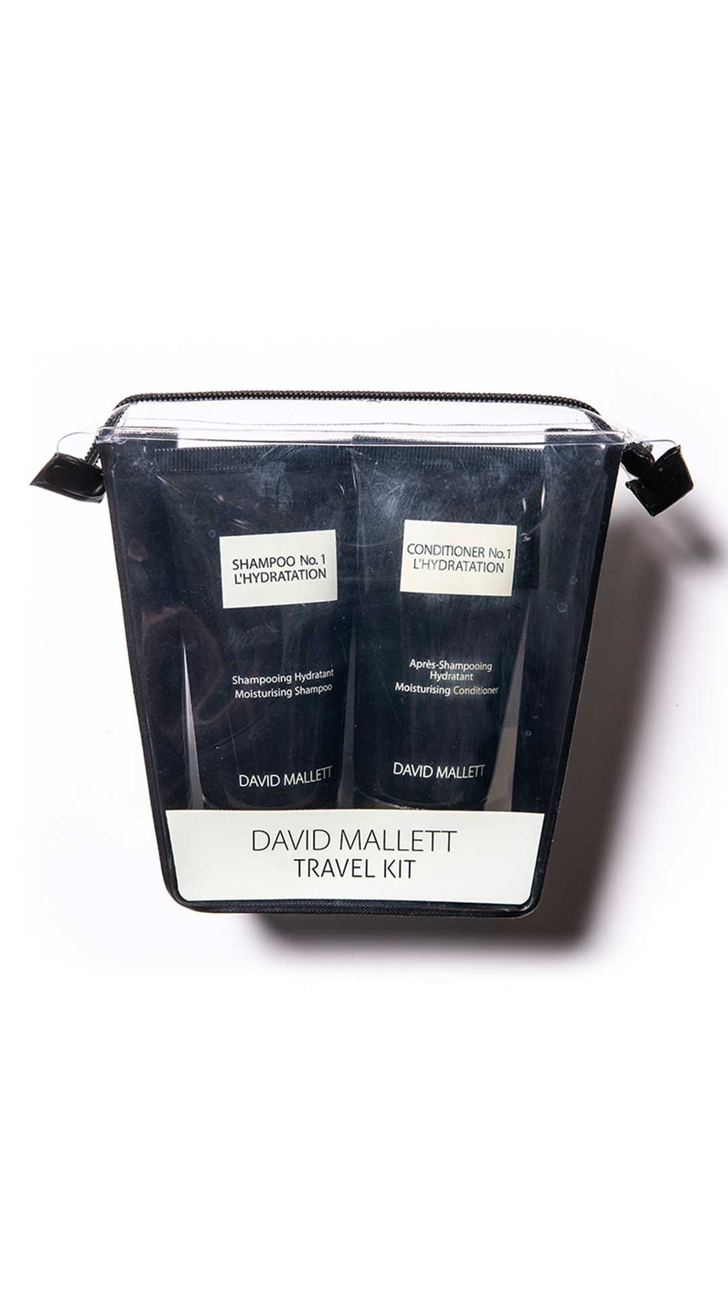 TRAVEL KIT - SHAMPOO/CONDITIONER NO.1 - - DAVID MALLETT