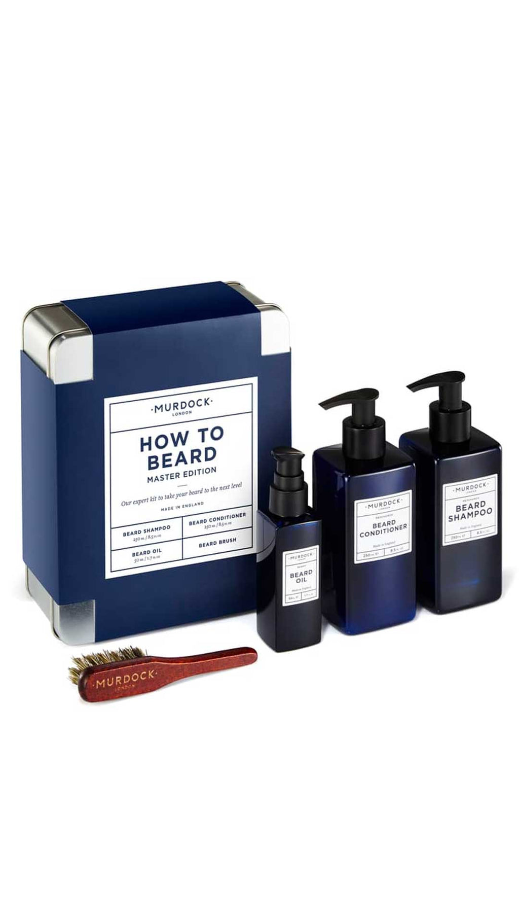 COFFRET HOW TO BEARD - MURDOCK OF LONDON