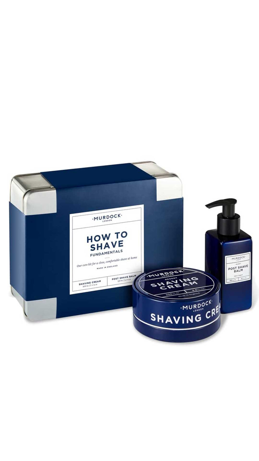 COFFRET HOW TO SHAVE - MURDOCK OF LONDON
