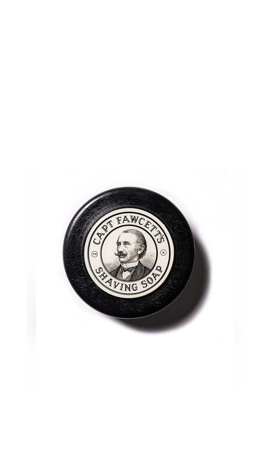LUXURIOUS SHAVING SOAP - SAVON À RASER  - CAPTAIN FAWCETT