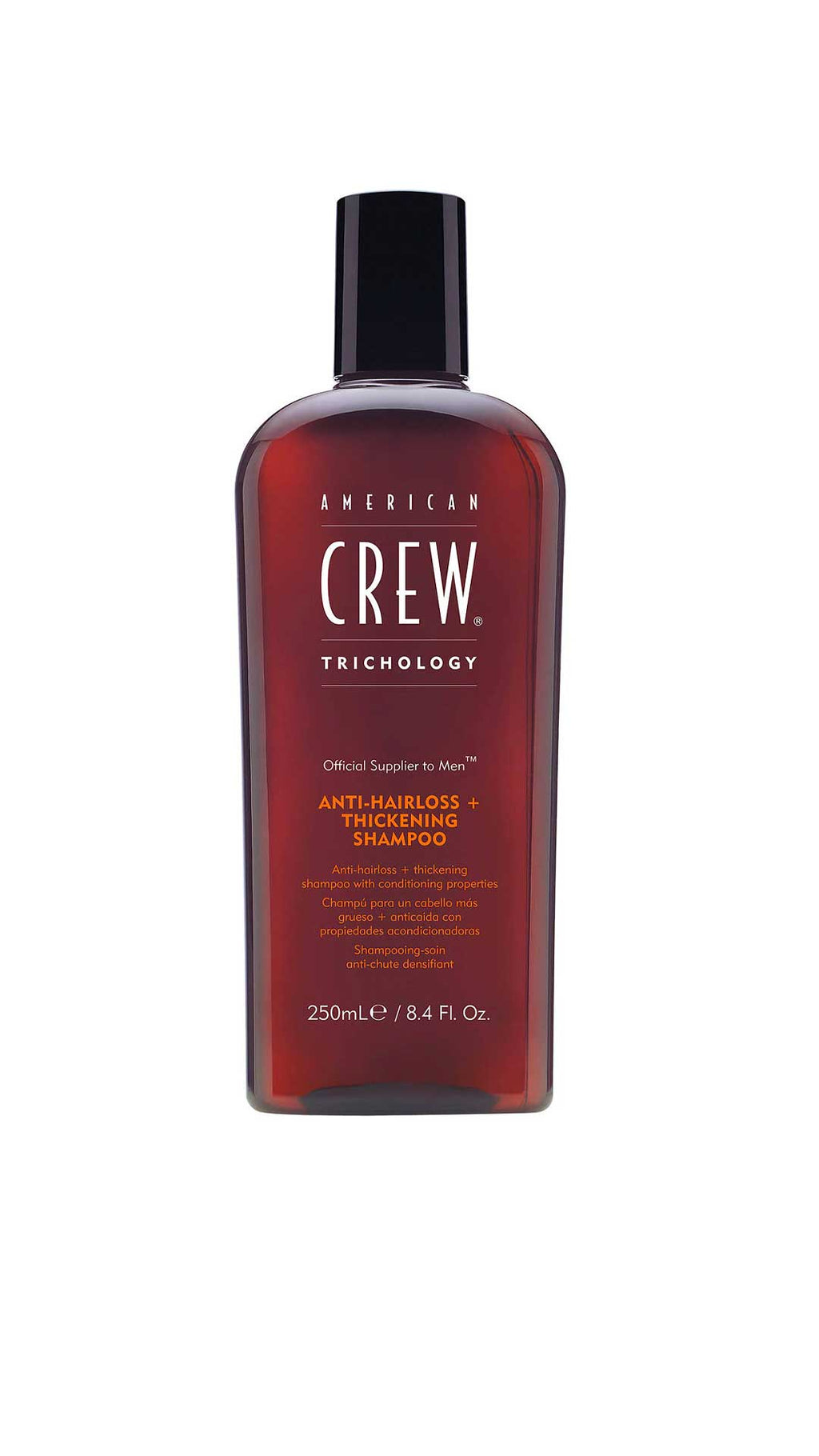 ANTI HAIR LOSS + THICKENING SHAMPOO - SHAMPOING ANTICHUTE - AMERICAN CREW