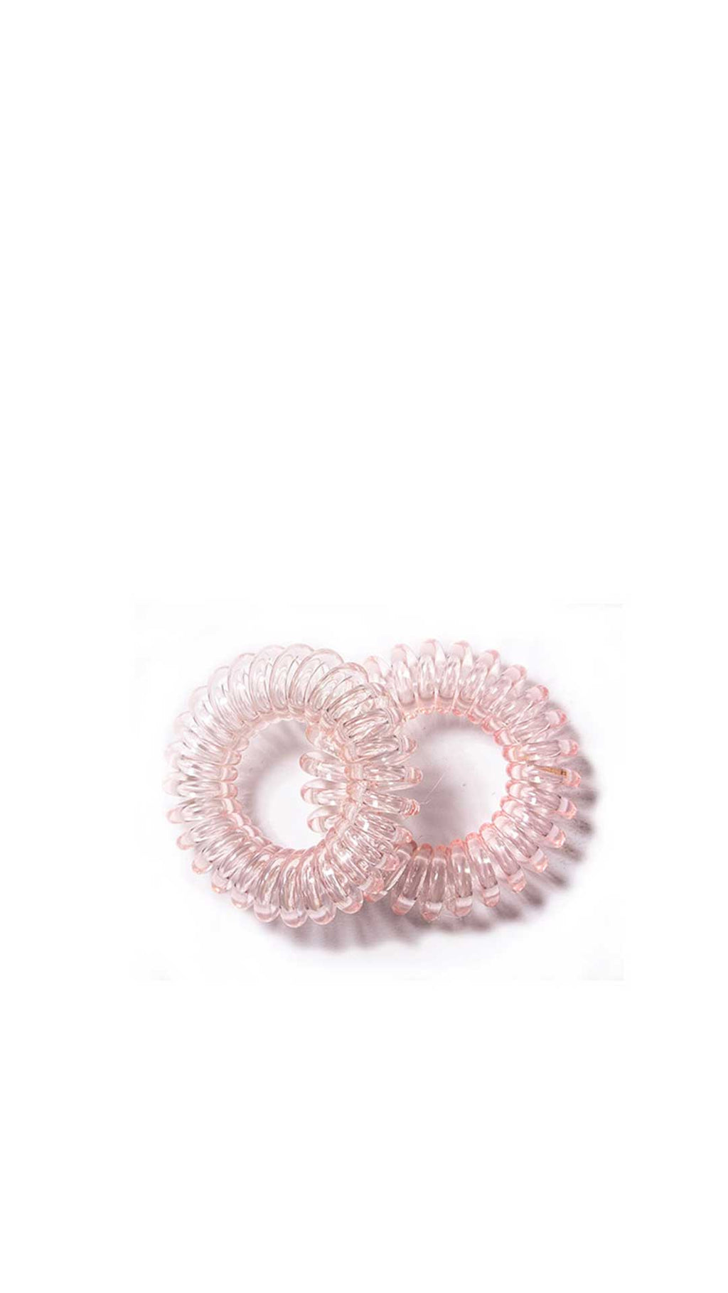 ROLLING HILLS HAIR RINGS PINK - ROLLING HILLS