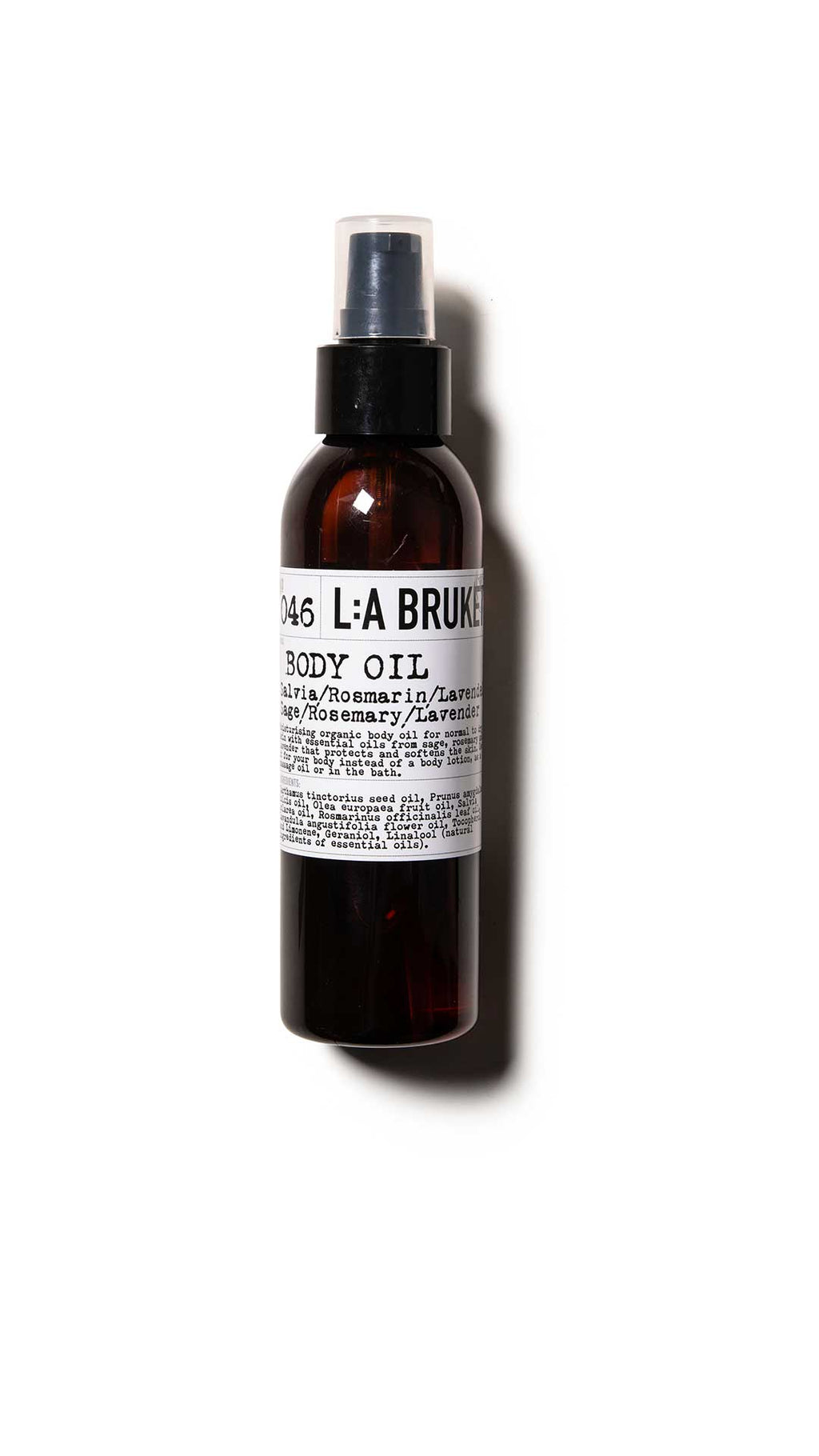 046 BODY OIL SAGE/ROSEMARY/LAVENDER - LA BRUKET