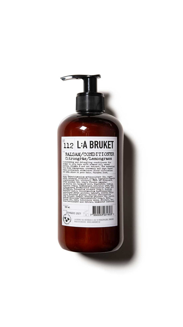 112 CONDITIONER LEMONGRASS  - LA BRUKET