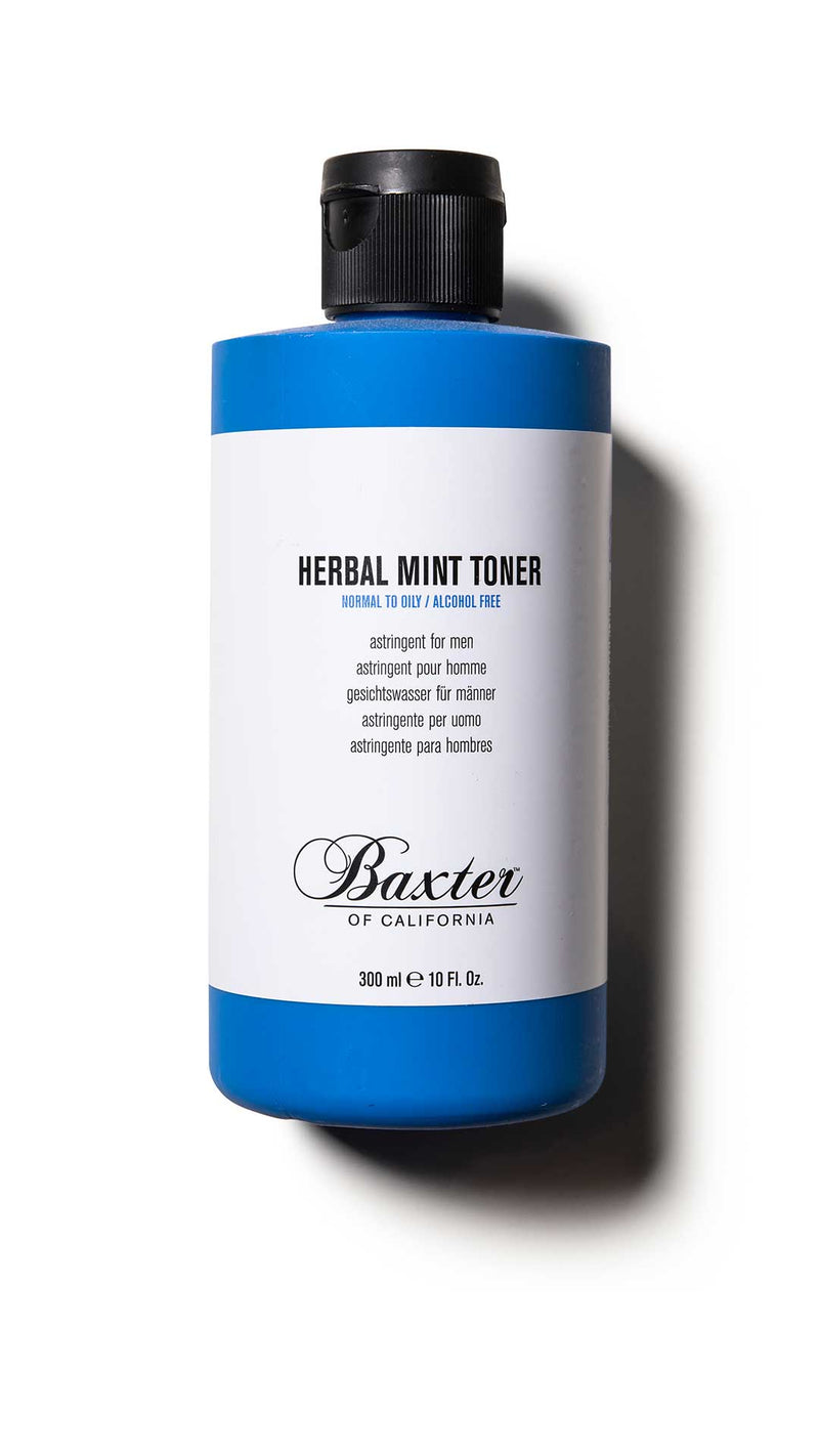 HERBAL MINT TONER - TONIQUE ASTRINGENT - BAXTER