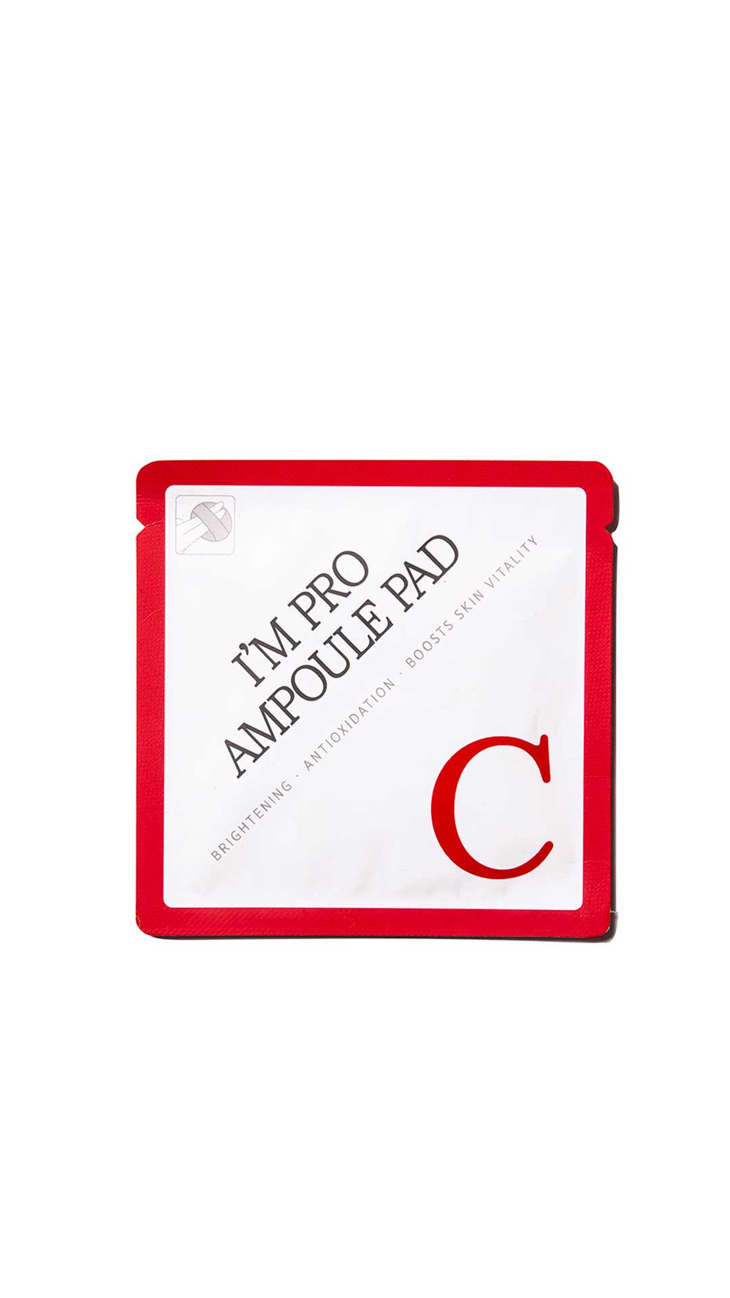 I'M PRO AMPOULE PAD C SINGLE-USE EXFOLIATING PAD WITH VITAMIN C