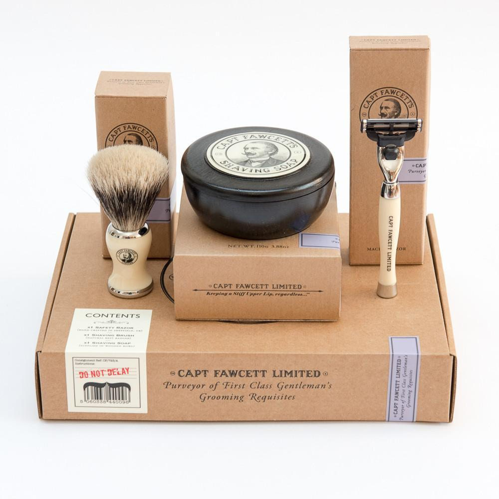 SHAVING GIFT SET - COFFRET DE RASAGE