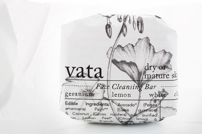 VATA cleansing bar / Savon solide