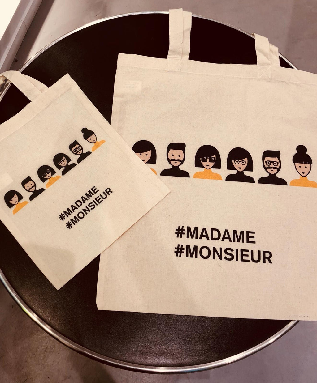 Grand Tote bag Madame Monsieur