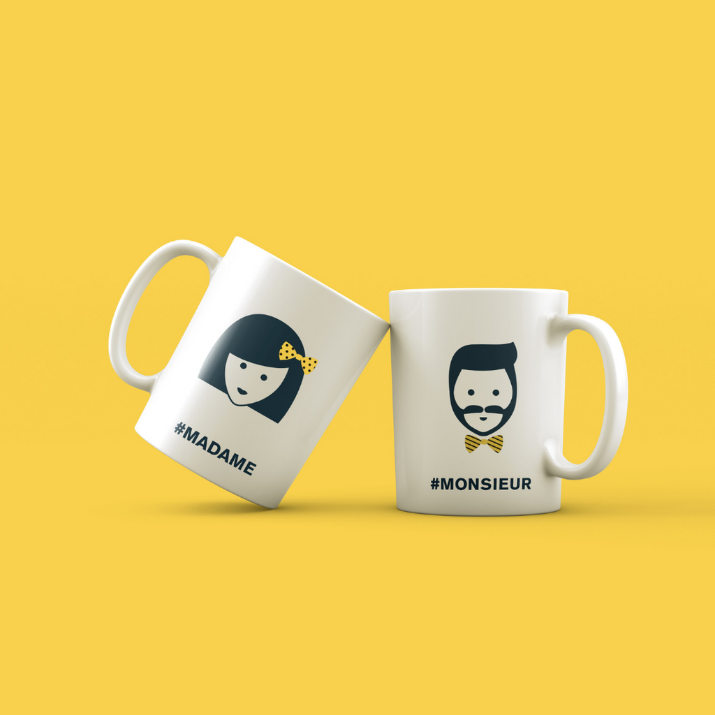 Grand mug MadameMonsieur