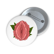 Load image into Gallery viewer, Peony Vulva Badge