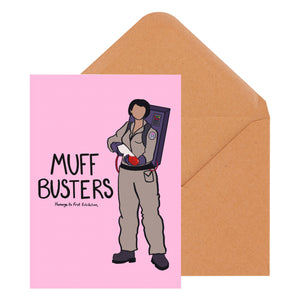Muff Busters Greeting Card