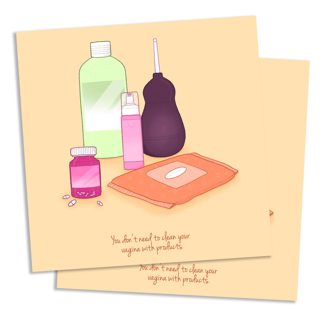 Products Postcard - Square