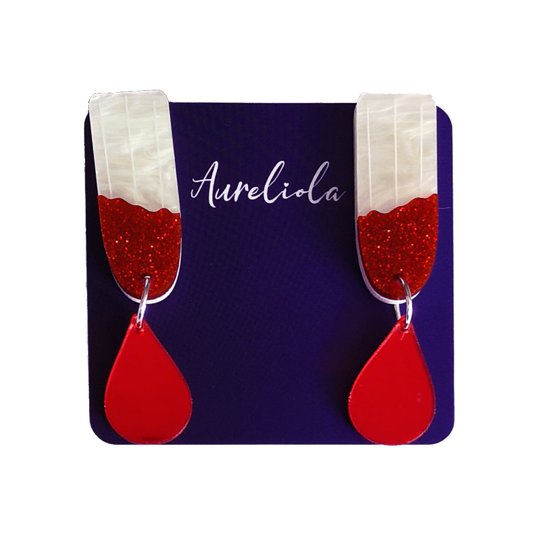 Tampon Earrings