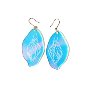 Acrylic Vulva Earrings