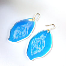 Load image into Gallery viewer, Acrylic Vulva Earrings