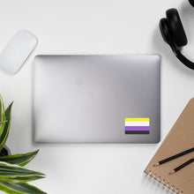 Load image into Gallery viewer, Nonbinary Pride Flag Sticker