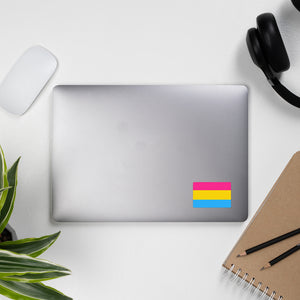 Pansexual Pride Flag Sticker