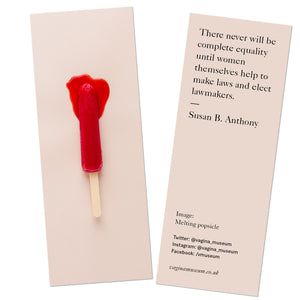 Melting Popsicle Bookmark