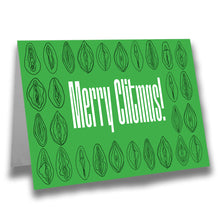 Load image into Gallery viewer, Merry Clitmas Greeting Card