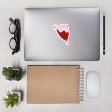 Load image into Gallery viewer, Menstrual Cup Vinyl Sticker