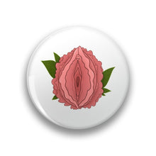 Load image into Gallery viewer, Peony Vulva Pocket Mirror