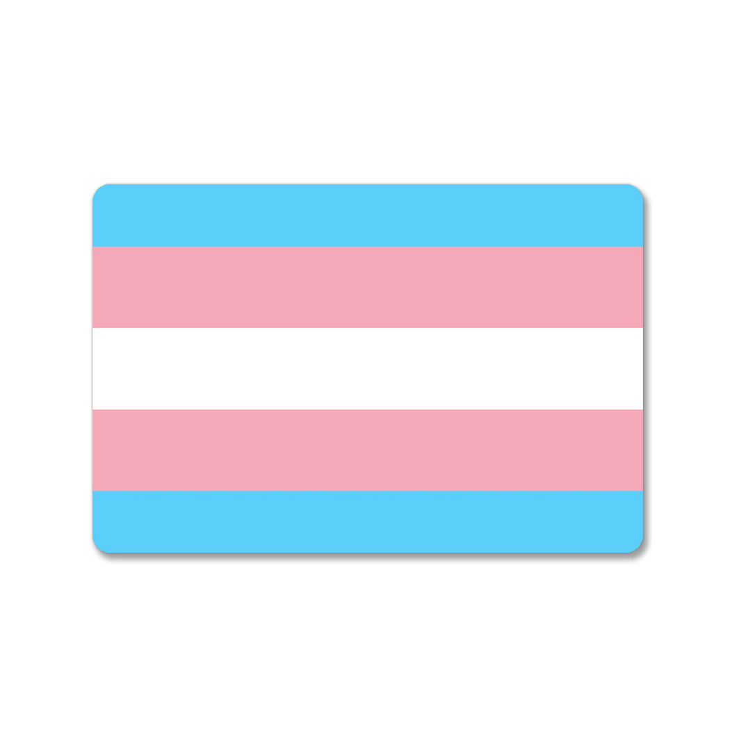 Transgender Pride Flag Sticker
