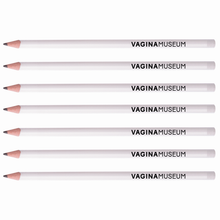 Load image into Gallery viewer, Vagina Museum Logo Pencil