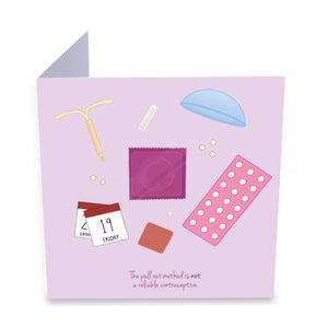 Contraception Greeting Card